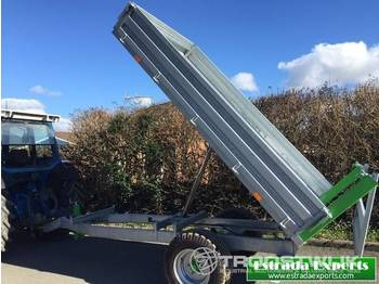 Benne agricole New zocoon 4.5t Tipping trailer 4.5t Tipping trailer